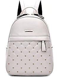ee995e18f1214 New Präge Mode Wilde Reisetaschen Mädchen-Schule-Taschen Rucksäcke PU-Leder -Handtasche