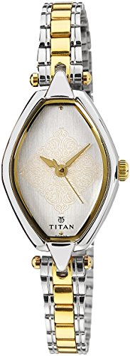 Titan Karishma Analog White Dial Women's Watch -2522BM01