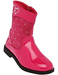 Kittens Girls' Fuchsia Boots (203128720)- 2 UK