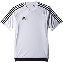 adidas Estro 15 JSY - Camiseta para hombre, color blanco / negro, talla XL