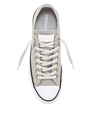 Converse All Star Ox Uomo Sneaker Grigio mouse/white