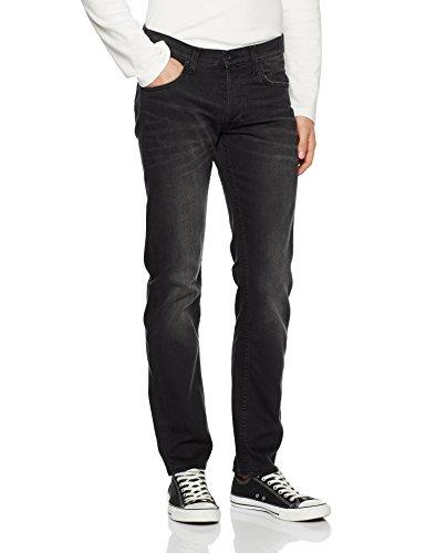 Lee Herren Straight Jeans Daren Schwarz (Black Flash Iz), W34/L36 (