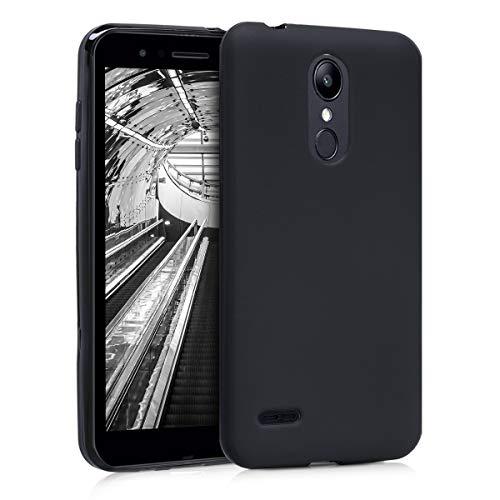kwmobile LG K8 (2018) / K9 Hülle - Handyhülle für LG K8 (2018) / K9 - Handy Case in Schwarz matt Lg Handy Case