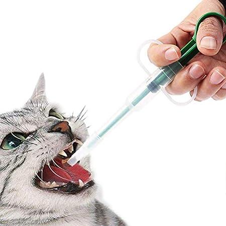 Haustier gegeben Medikamente Gerät Pusher Spritze Dosiergerät Medikamenten, Tabletteneingeber für Katzen kleine Hunde