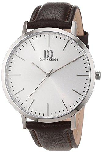 Danish Design uomo-Orologio da polso al quarzo in pelle 3314508