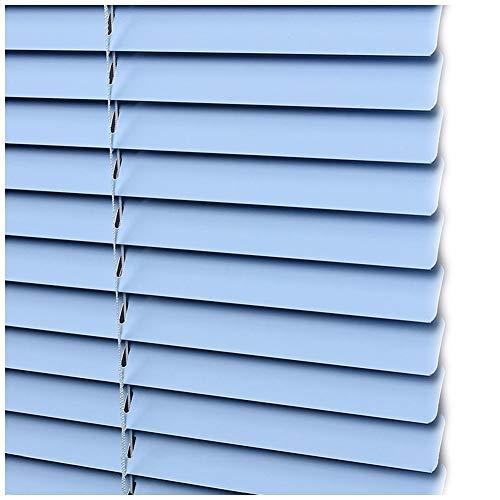 CHENHZ-Veneziana in alluminio,Filtraggio della Luce Punch Installazione Gratuita Protezione da Luce E Bagliore for Bagno Ufficio, Dimensioni Personalizzabili (Color : Blue, Size : 65x130cm)