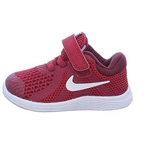 Nike Unisex-Kinder Revolution 4 (TDV) Laufschuhe, grau