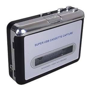 keedox usb cassette mp3 convertisseur capture audio musique lecteur baladeur high. Black Bedroom Furniture Sets. Home Design Ideas