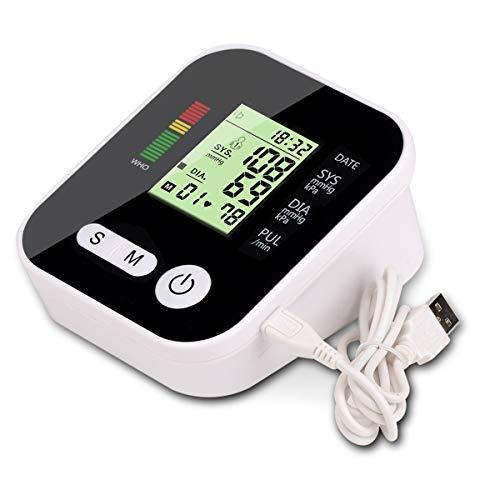 BigBig Style Auto-Digitalarm-Blutdruckmessgerät BP-Monitor mit großem Display-Blutdruckmessgerät (Size : Without Voice Broadcast) - Manuelle Blutdruck-kit