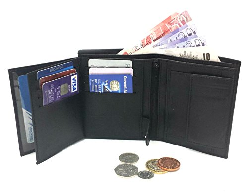 mens-high-luxury-soft-leather-tri-fold-design-wallet-credit-card-slots-id-window-and-coin-pocket