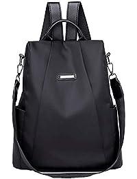 Mochilas Casual de Viaje de Tela Oxford de Personalidad de Moda Bolsa  Antirrobo Paquete de Viaje beced611c8564