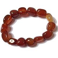 Tumblestone Carnelian Bracelet - Yoga - Plus Free Gift Bag preisvergleich bei billige-tabletten.eu