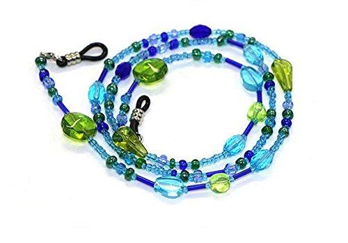 Hacoly Kristallperlen Brillenband Kordel Brillenketten für Damen Kinder Brillen Seil Accessoire...