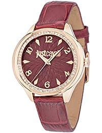 JUST CAVALLI Damen - Armbanduhr JC01 Analog Quarz Leder R7251571508