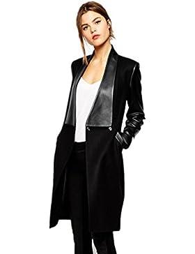 Pelo fino, la participación de la mujer en la costura, abrigo largo