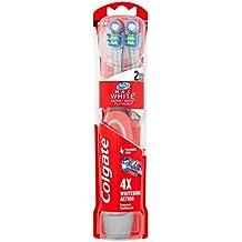 Colgate Max Blanco Expert blanco recargable cepillo de dientes cabezal de  dos unidades ef8792a1959a