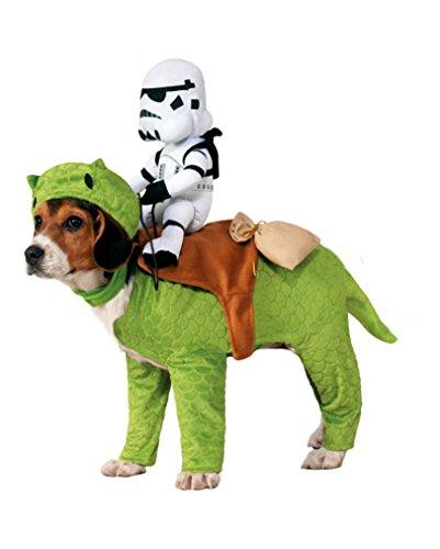 Dewback mit Stormtrooper Star Wars Hundekostüm - 10-18 kg (Hundekostüme)
