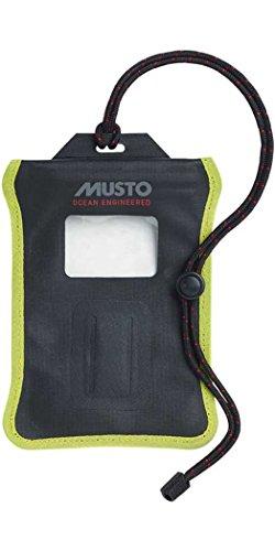 Musto Evolution Waterproof Smartphone-Tasche Schwarz - Unisex. Wasserdicht - Lassen Sie bei Ihrer nächsten Expedition kein Gerät zurück Zurück Gerät