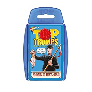 Winning Moves Top Trumps 3D - Especial Historias de Terror (Importado de Reino Unido)
