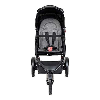 Phil&teds Sport V6 2019+ - Silla de paseo con asiento, color gris