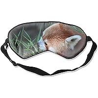Tier-Schlafmaske mit rotem Panda, Seide, mit verstellbaren Trägern zum Schlafen oder Reisen, Nickerchen preisvergleich bei billige-tabletten.eu