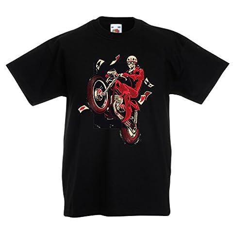 Rock And Roll Costumes Photos - T-shirt pour enfants Motocycliste - Vêtements de