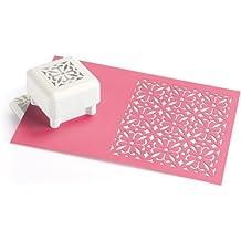 Martha Stewart Ornate Square - Perforadora de figuras de papel, 3,8 x 3,8 cm, incluye base magnética
