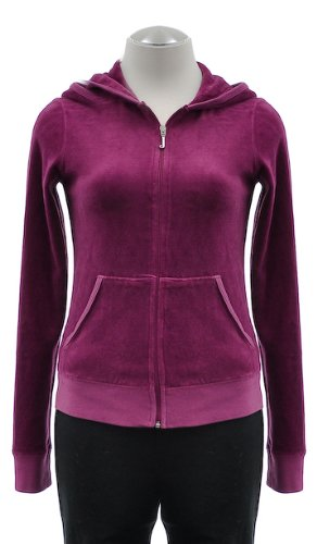 Juicy Couture Donna Felpa Zip&Cap