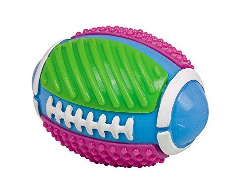 Nobby 60324 TPR Rugbyball mit Glocke, 11,5 cm