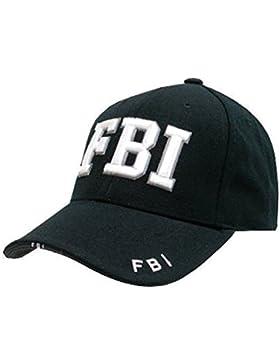 Kombat UK -  Cappellino da baseball  - Uomo Nero  nero