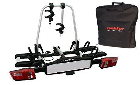 UEBLER Set Träger X21-S für 2 Fahrräder mit passender Aufbewahrungstasche