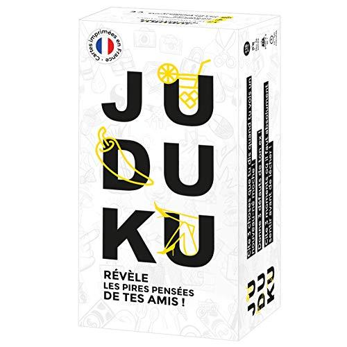 JUDUKU - Jeu Original - Jeu de Societe pour Apéro & Soirées - Jeux de société Adulte et de Cartes - Edition Limitée Blanc