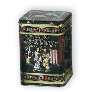 Buzz Boîte à thé en métal Style japonais classique Hauteur 25cm Quantité 2,2kg