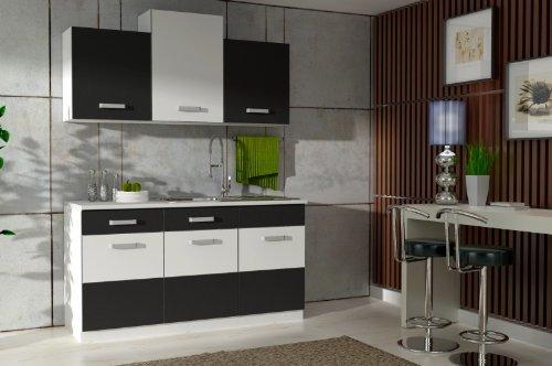 Pantryküche Mit Kochplatten Und Oberschränke Ohne Kühlschrank