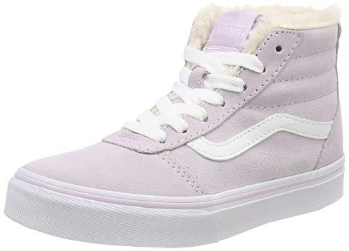 Vans Mädchen Ward HI Zip MTE Hohe Sneaker, Pink ((Weatherized) Lavender Fog/True White U3l), 31.5 EU