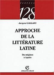 Approche de la littérature latine