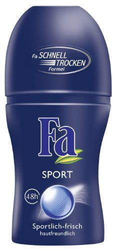 Fa Deo Roll-on Sport, 50ml