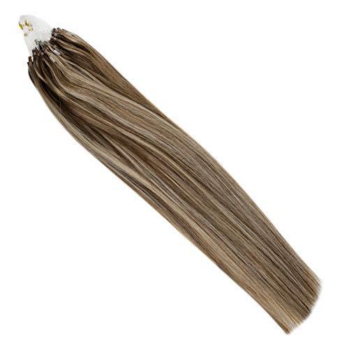 Hetto Micro Ring Hair Extension #4/16 Marrón Oscur