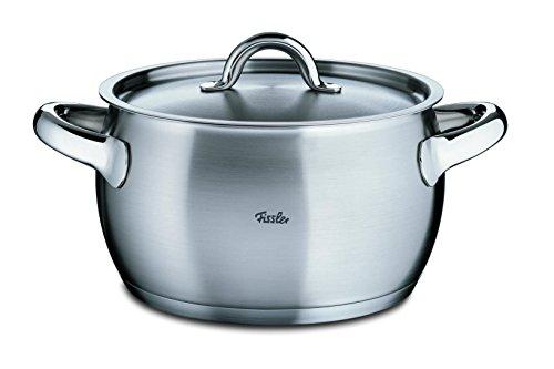 Fissler Fiamma Cooking Pot, silver, 24 cm