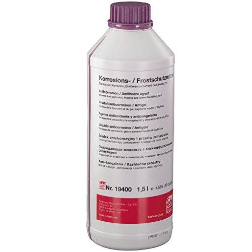 Preisvergleich Produktbild febi bilstein 19400 Frostschutzmittel G12+ für Kühler (lila) 1,5 Liter