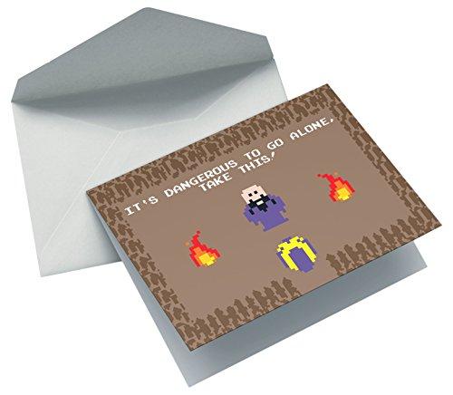 Nerd Cards - Take This - Die Geburtstagskarte für Nerds, Geeks & Serienfans
