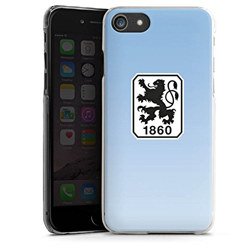 Apple iPhone X Silikon Hülle Case Schutzhülle TSV 1860 München Fanartikel Fußball Hard Case transparent