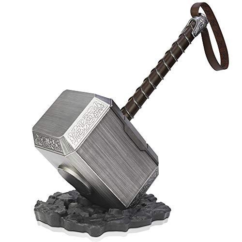 ZYER Thorhammer, The Thor Battle Hammerof Avengers, Lebensgroßer Hammer für (Alle Green Lantern Kostüm)