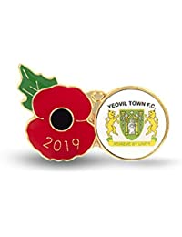 The Royal British Legion Yeovil Poppy Football Pin 2019