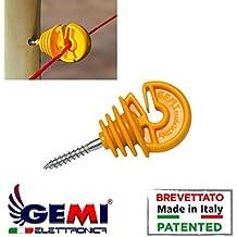Aisladores para madera para cerca eléctrica - 100 unidades GEMI