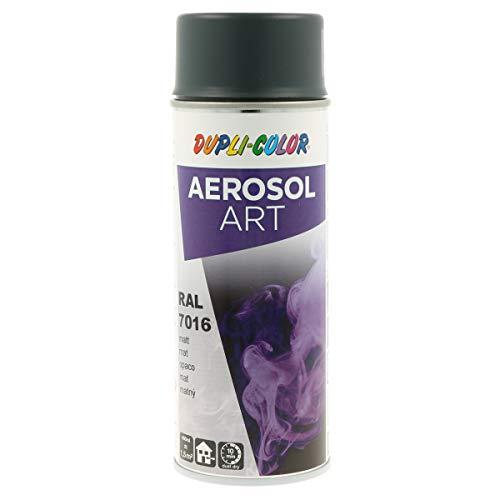 DUPLI-COLOR 741517 Aerosol Art Spray 400ml anthrazit, RAL 7016 Anthrazitgrau Matt