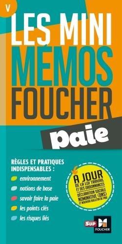 Les mini memos Foucher - Paie - 2e édition - Révision par Bernard Derangère