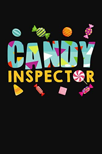 Candy Inspector: Blank Journal To Plan Halloween Theme Party, Decorations, Tricks And Treats