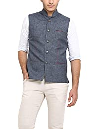 Shaftesbury London Men's Cotton Waistcoat