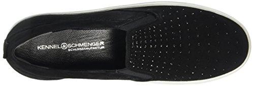 Kennel Und Schmenger Schuhmanufaktur Town, Sneakers basses femme Noir - Schwarz (schw/black S.weiss 680)